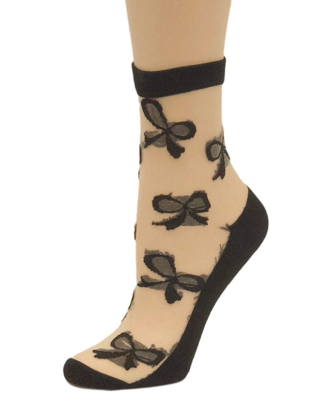 Multi Bow Sheer Socks - Global Trendz Fashion®
