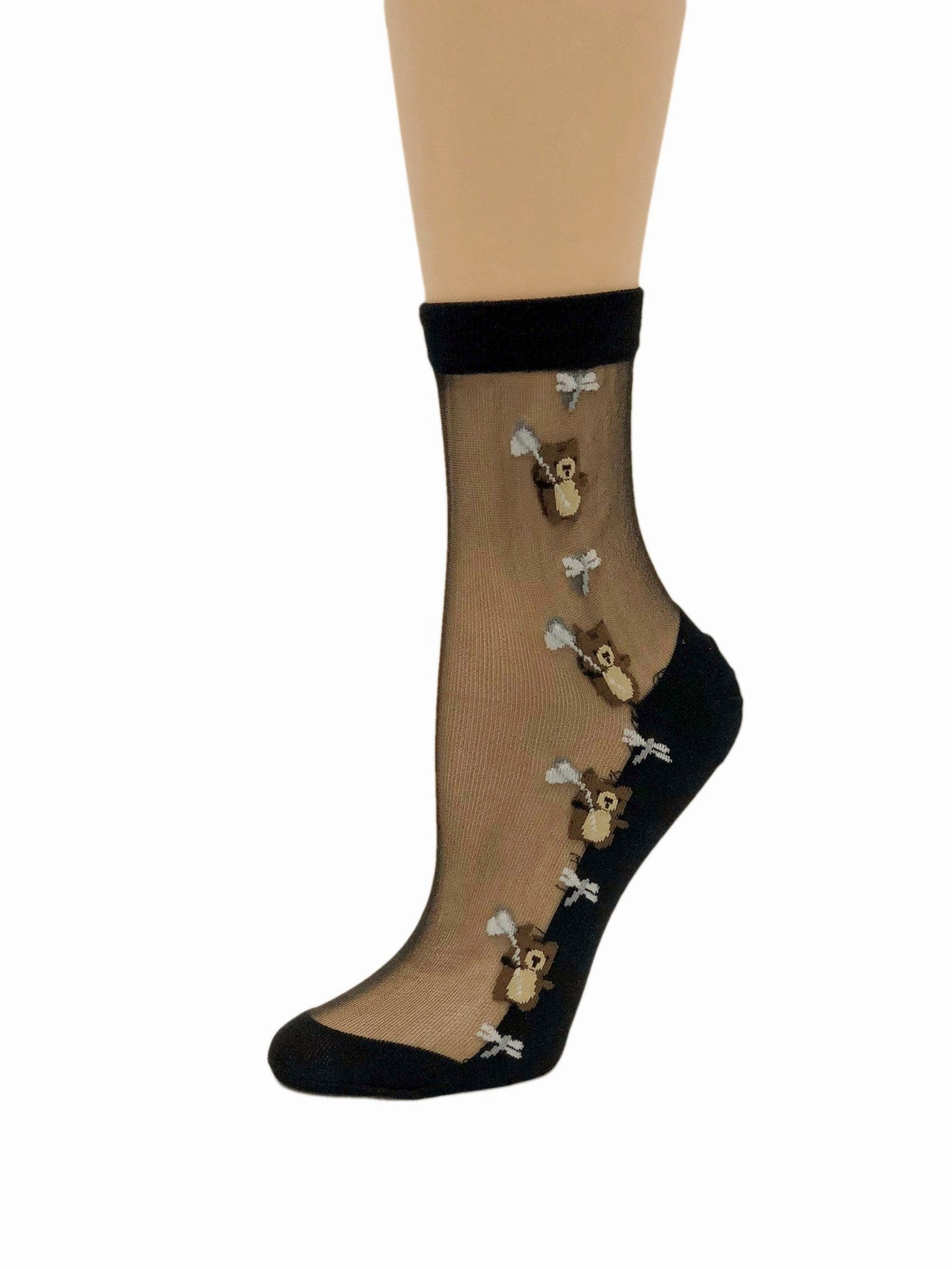 Adorable Baby Bear Sheer Socks - Global Trendz Fashion®