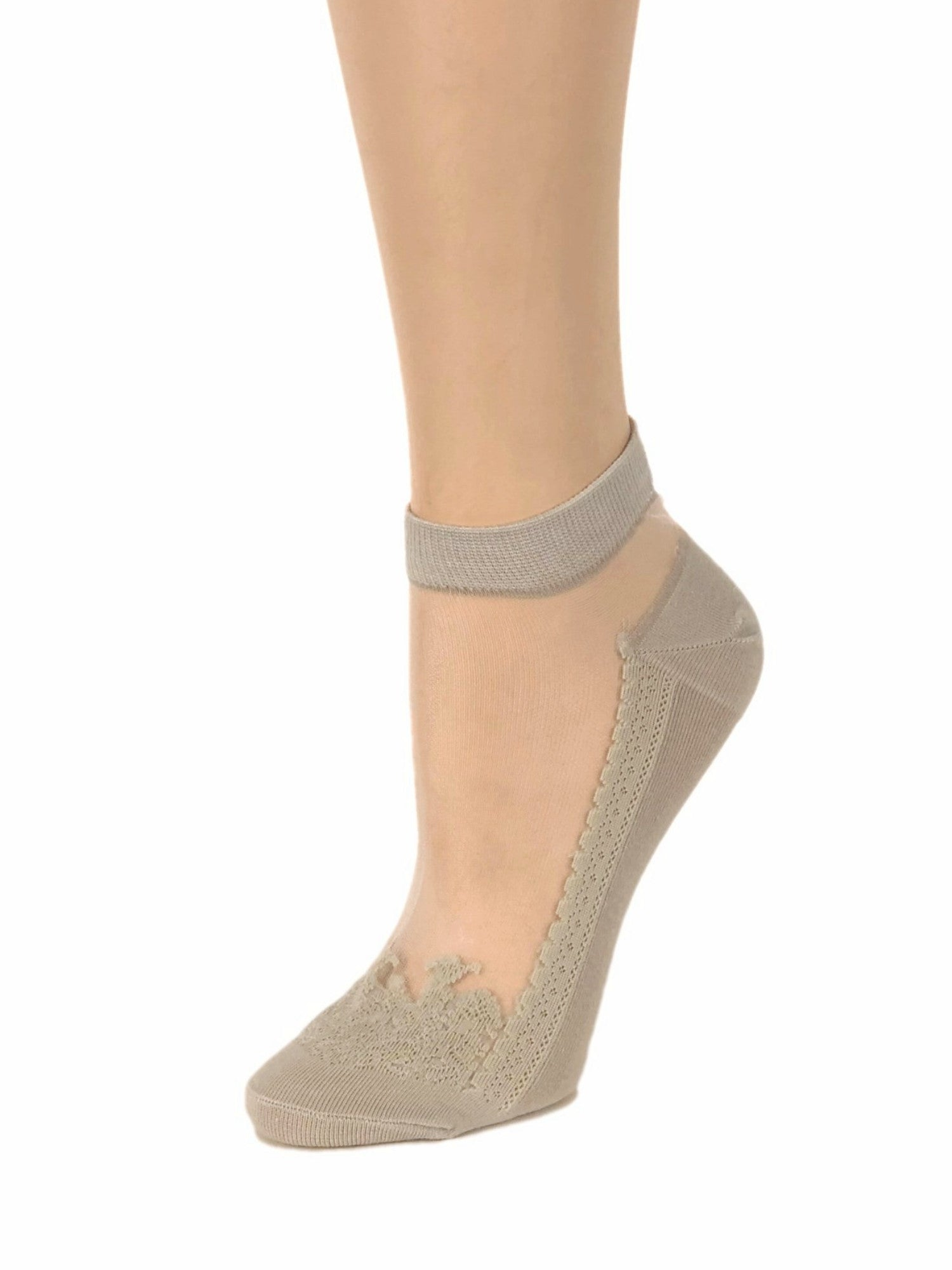 Light Skin Ankle Sheer Socks - Global Trendz Fashion®
