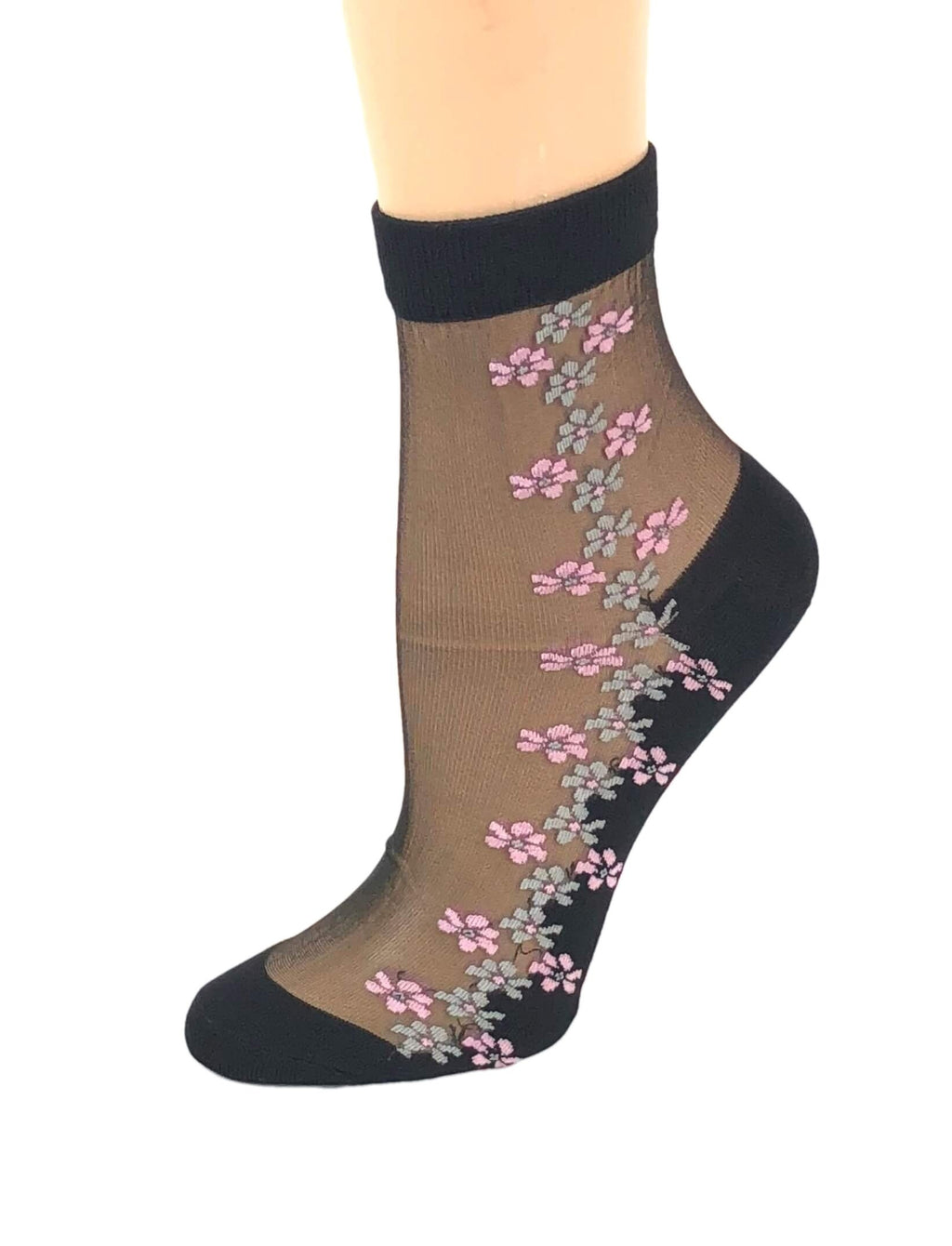 Blush Pink Sheer Socks - Global Trendz Fashion®