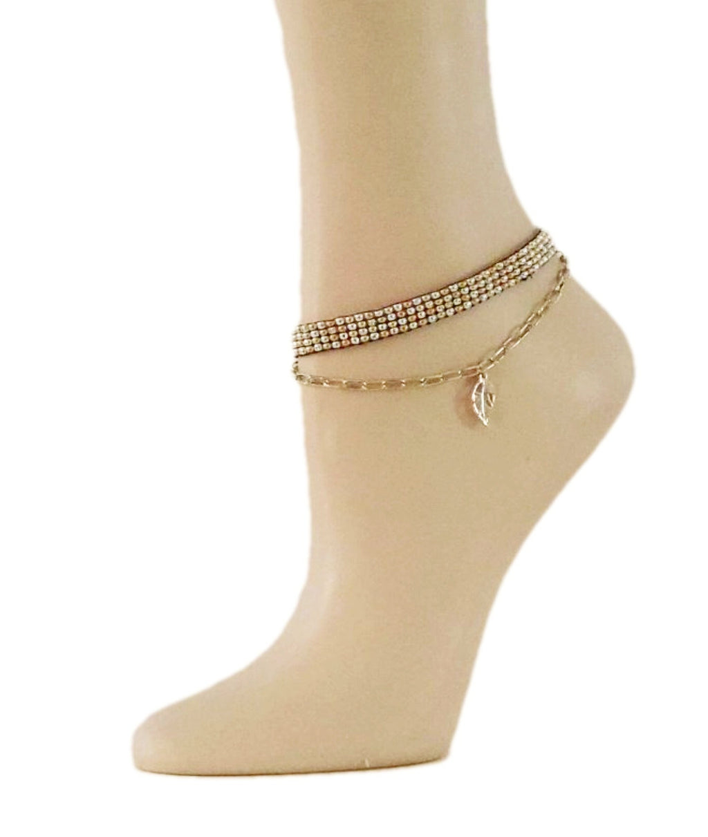 DIY Andrea Anklet - Global Trendz Fashion®