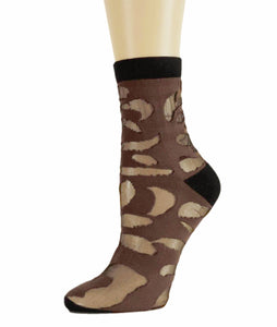 Fashion Patches Sheer Socks - Global Trendz Fashion®