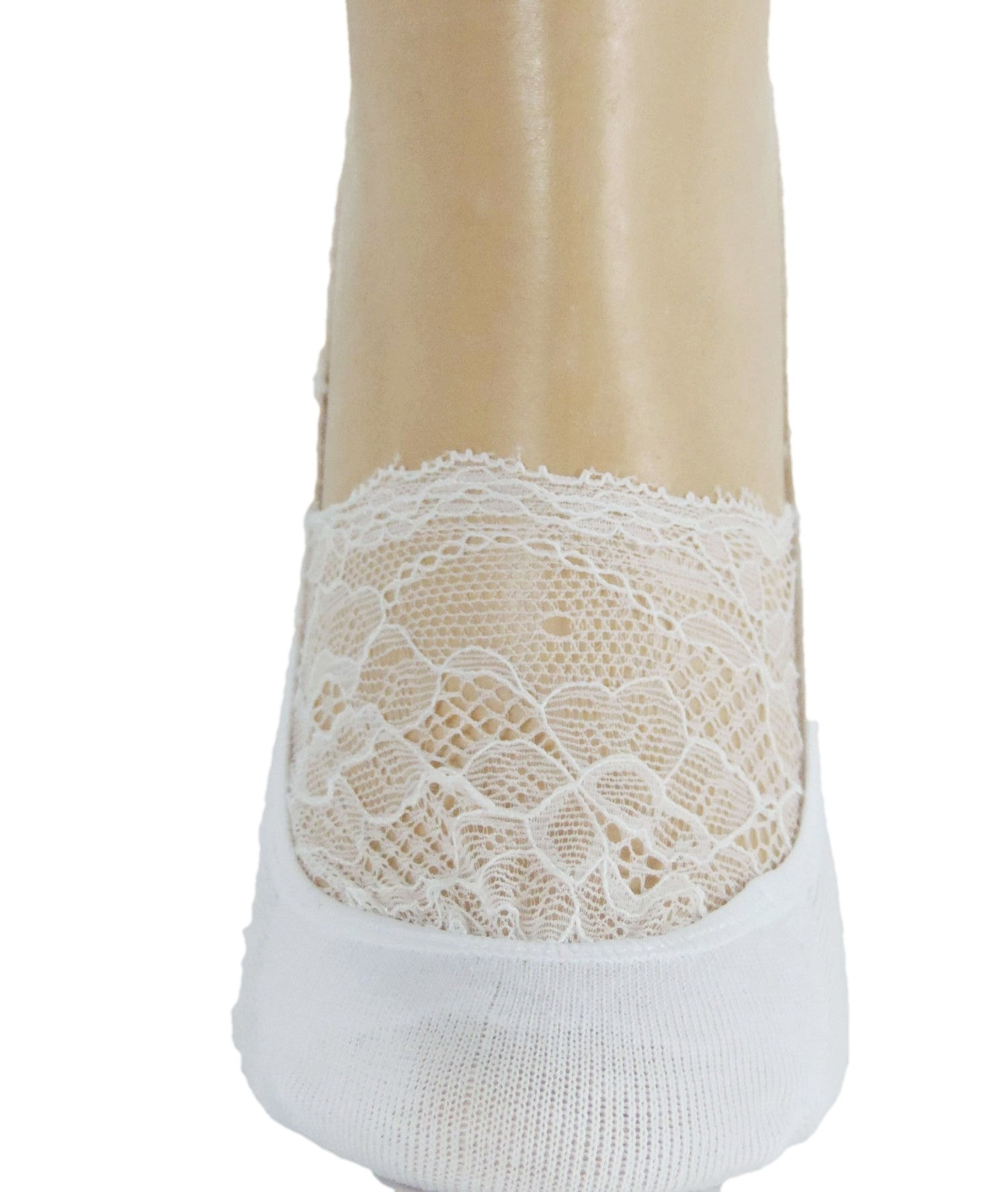 Classy White Ankle Sheer Socks - Global Trendz Fashion®