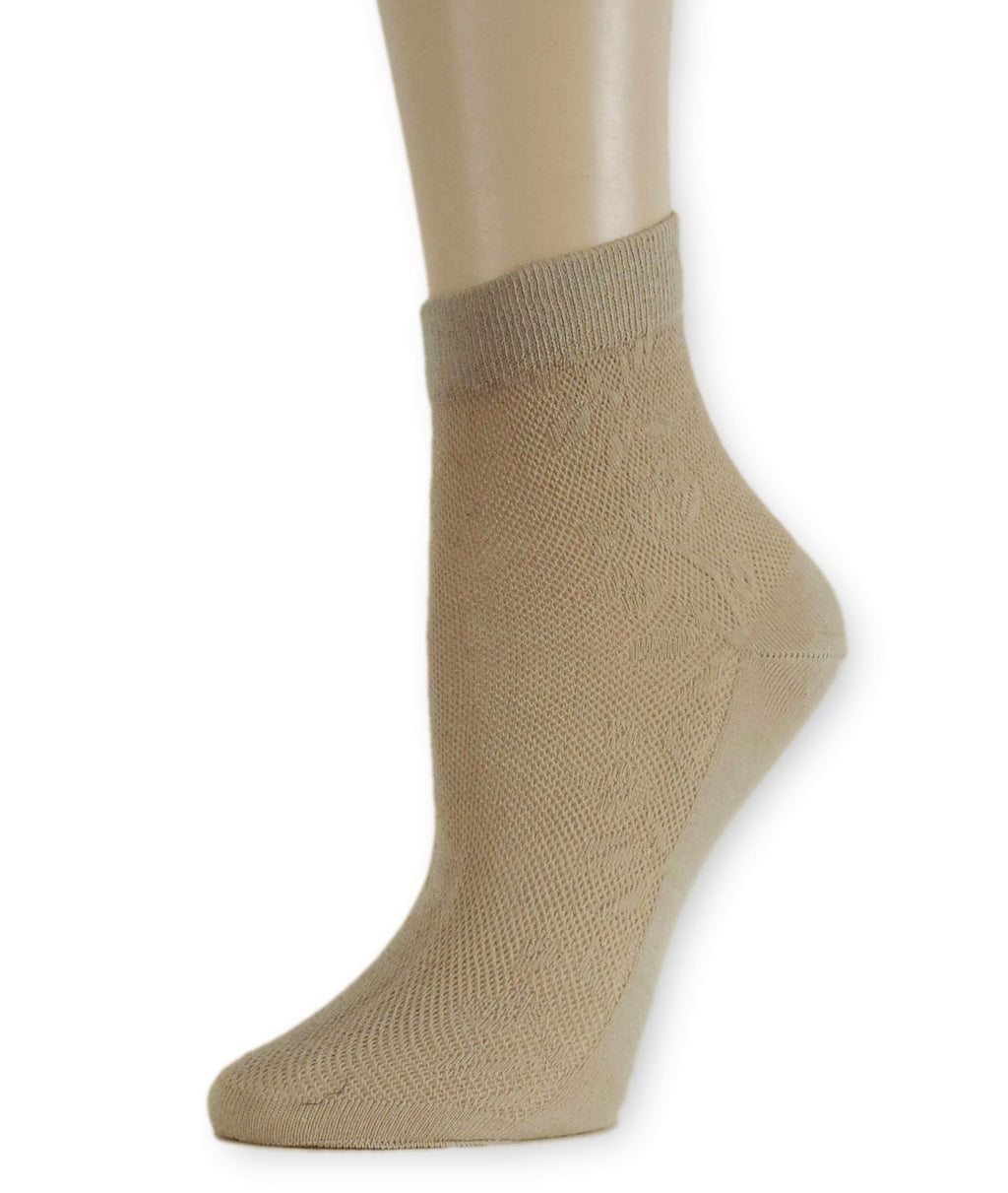 Soft Biege Sheer Socks - Global Trendz Fashion®