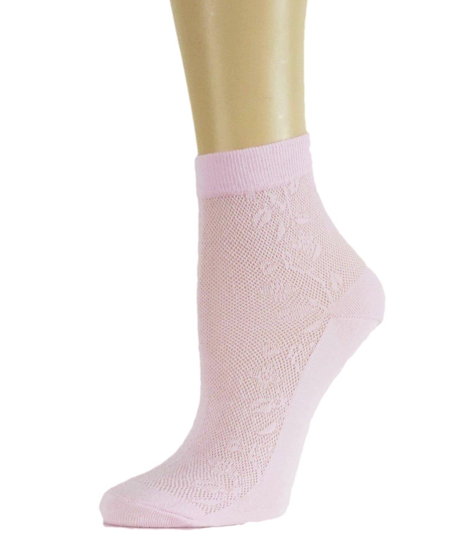 Soft Pink Sheer Socks - Global Trendz Fashion®