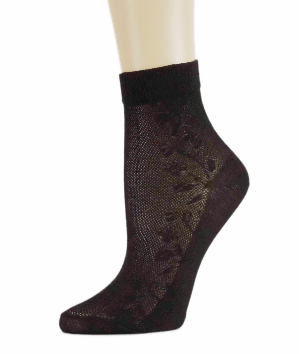 Soft Black Sheer Socks - Global Trendz Fashion®