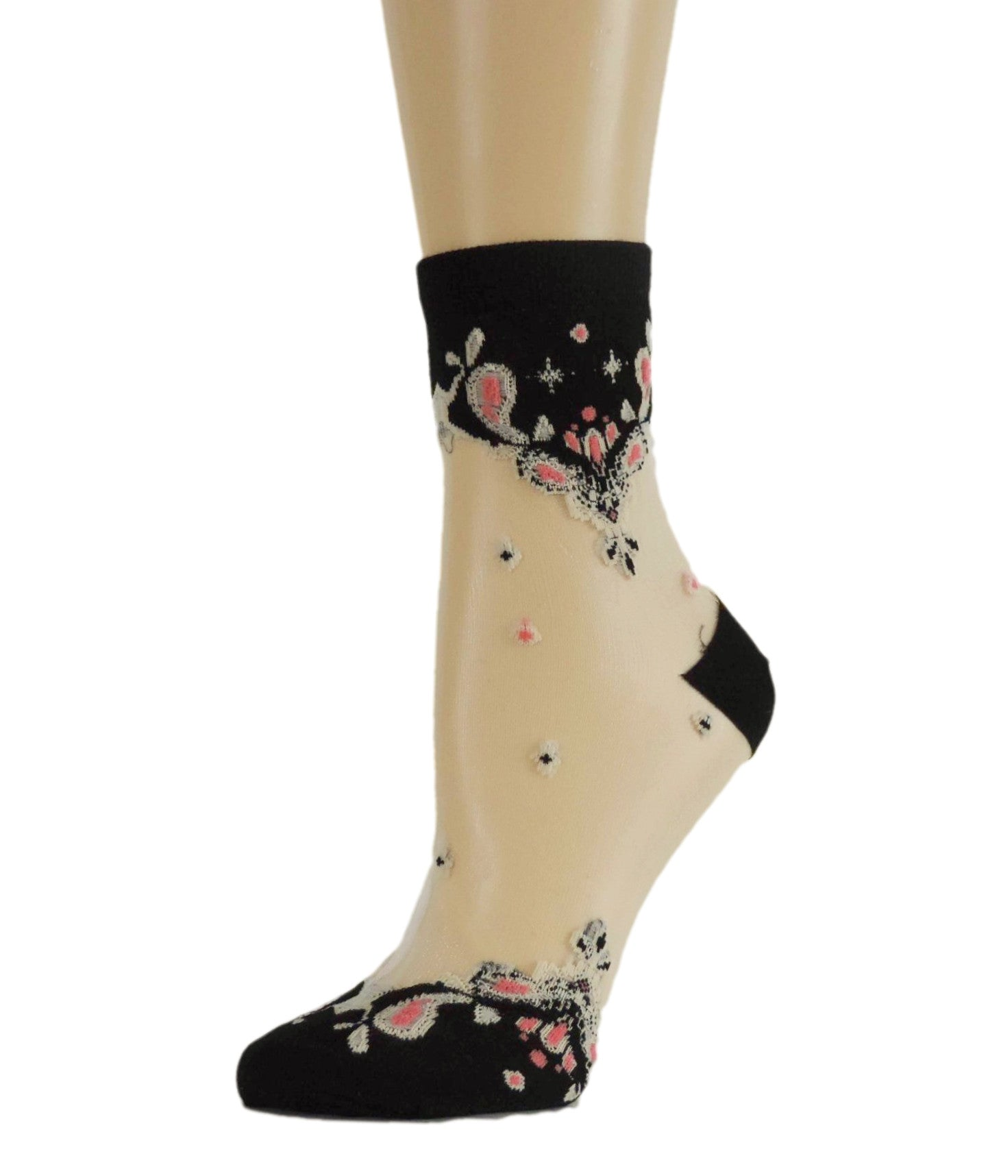 Royal Chandelier Sheer Socks - Global Trendz Fashion®