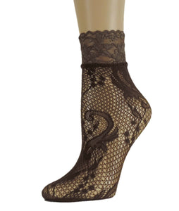 Wild Flower Mesh Socks