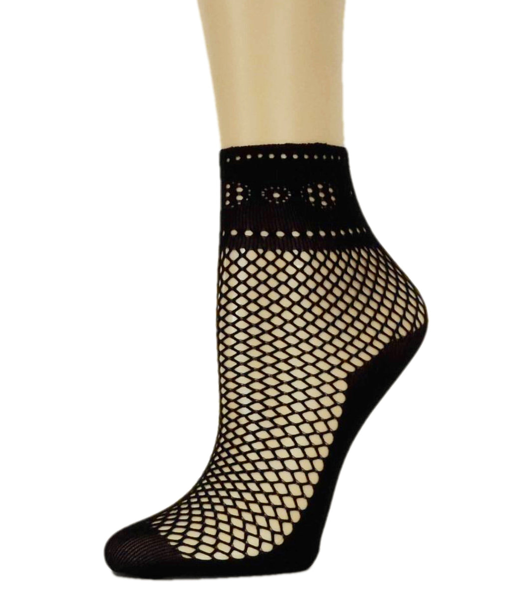 Rich Black Fishnet Socks - Global Trendz Fashion®