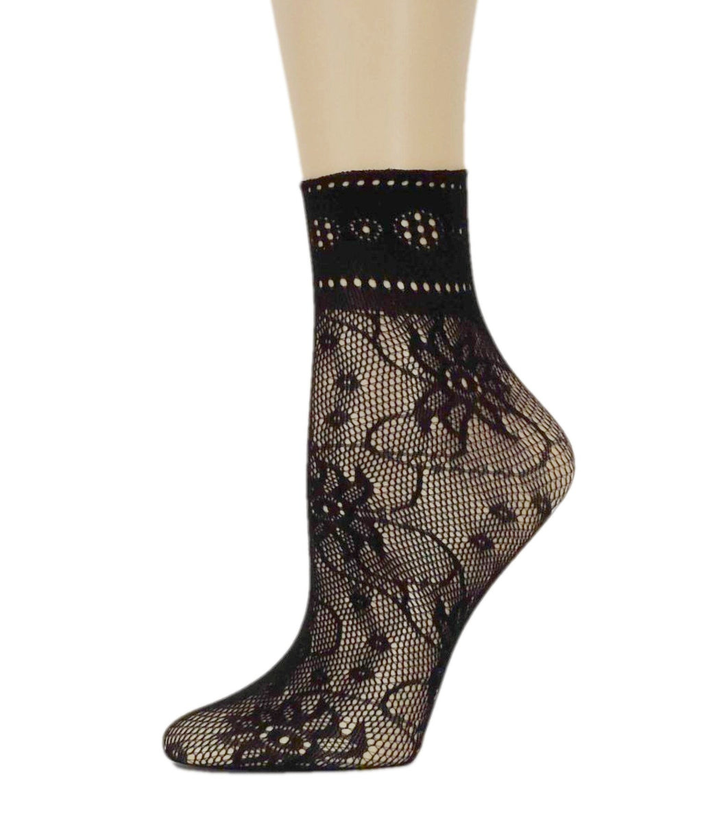 Big Flower Mesh Socks - Global Trendz Fashion®