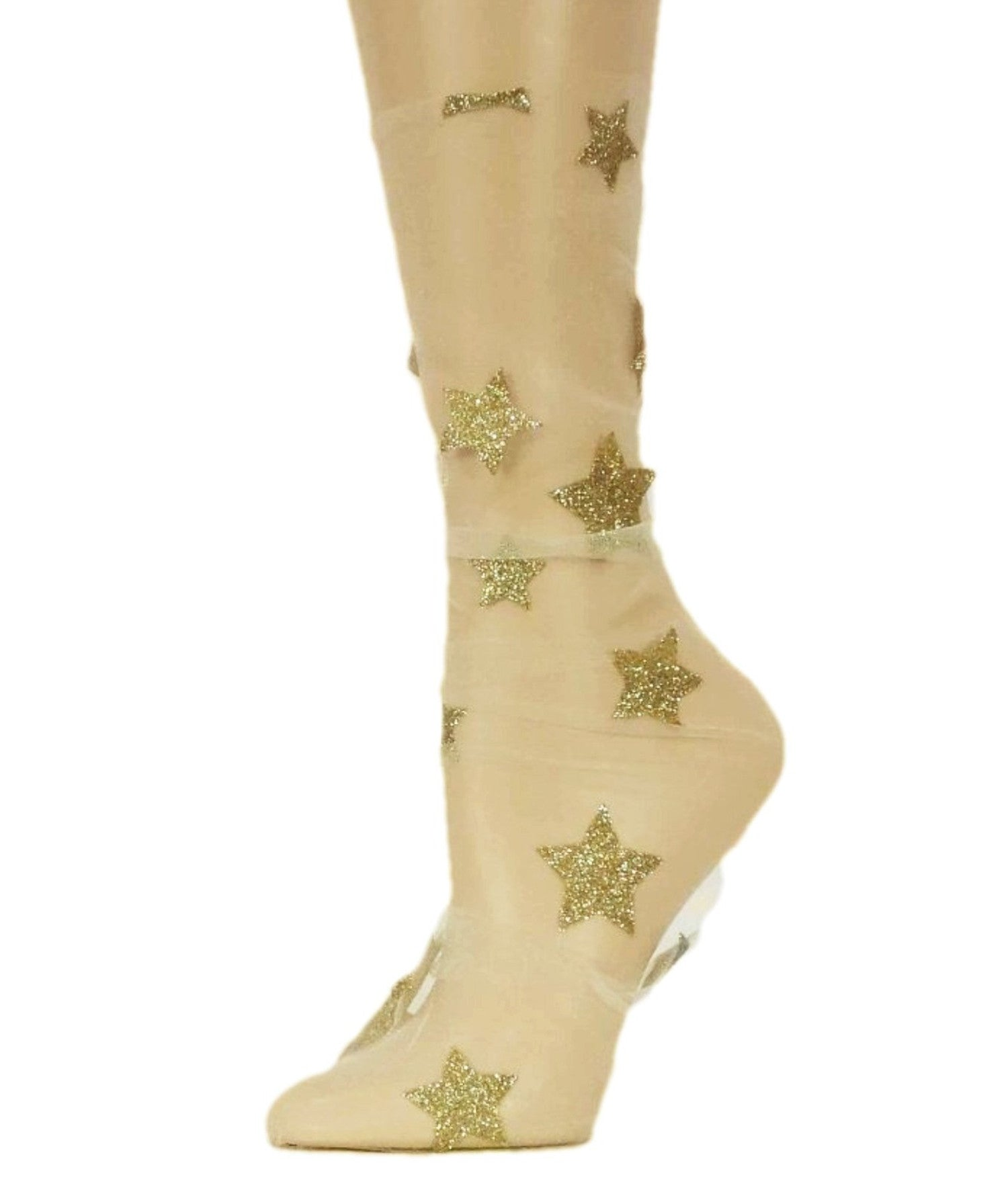 Golden Stars Tulle Socks - Global Trendz Fashion®