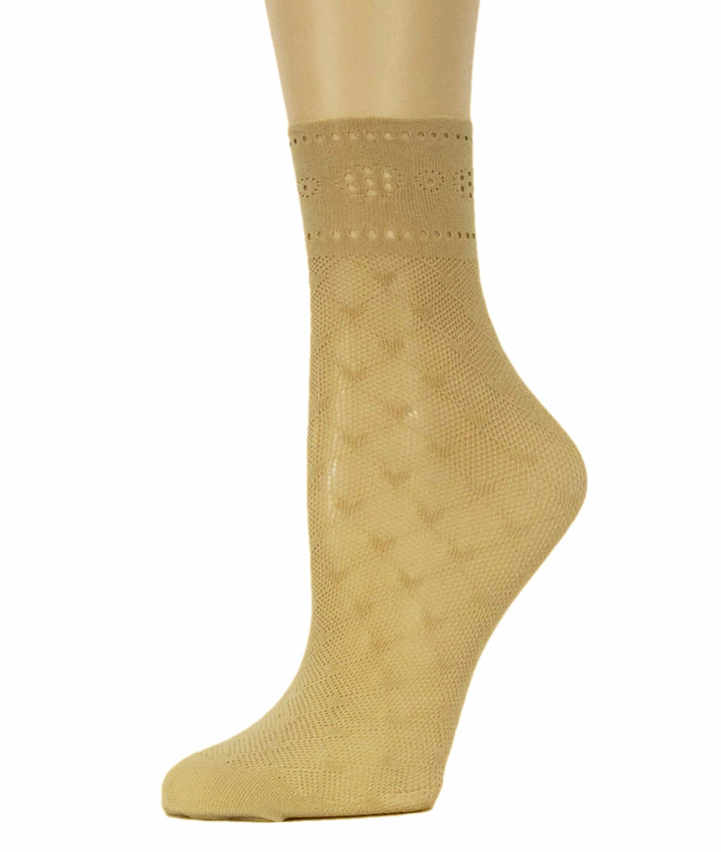 Little Hearts Mesh Socks - Global Trendz Fashion®