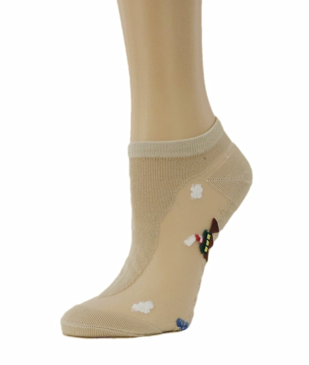 Pretty Ankle Sheer Socks - Global Trendz Fashion®