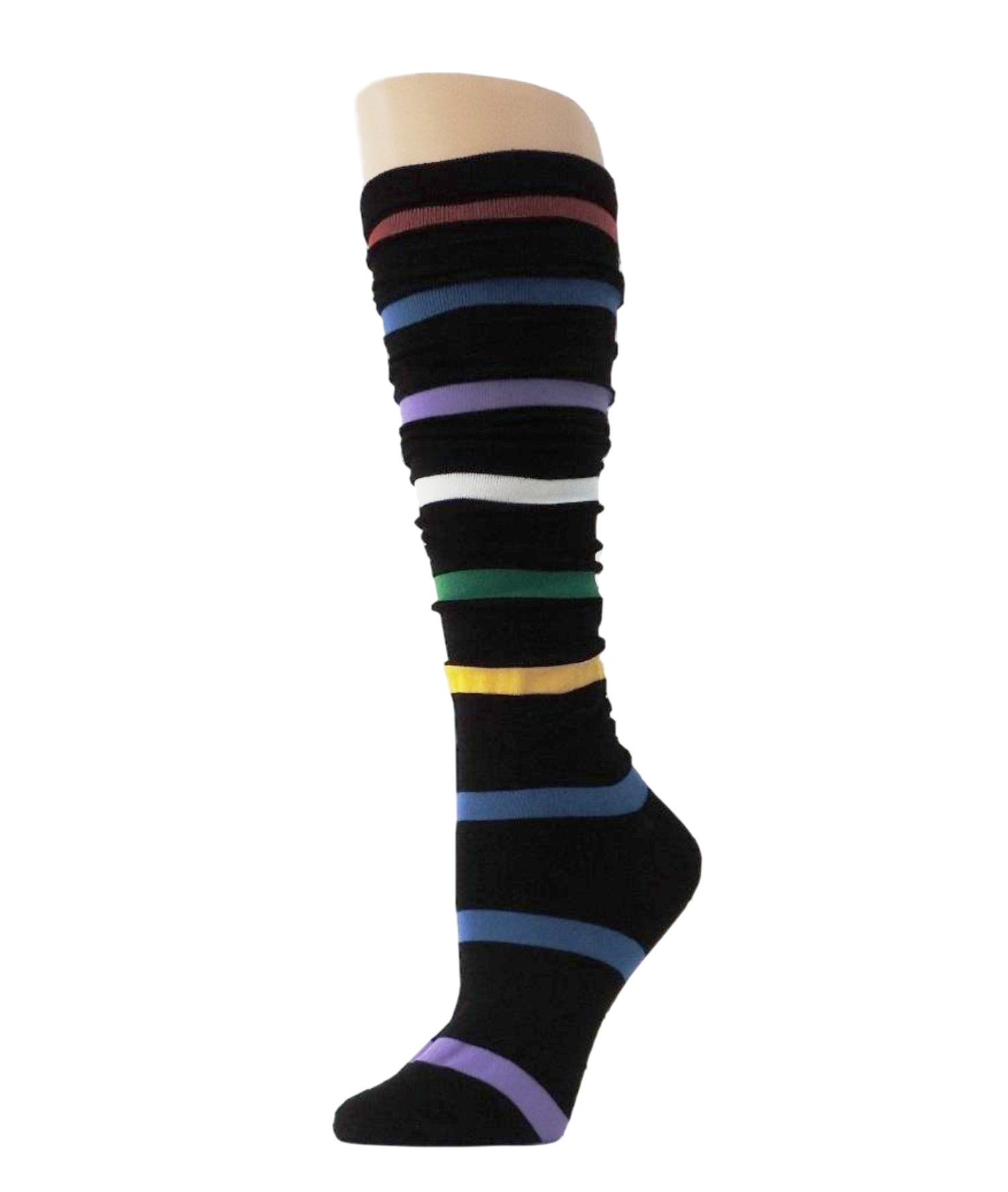 Striped Knee High Socks - Global Trendz Fashion®