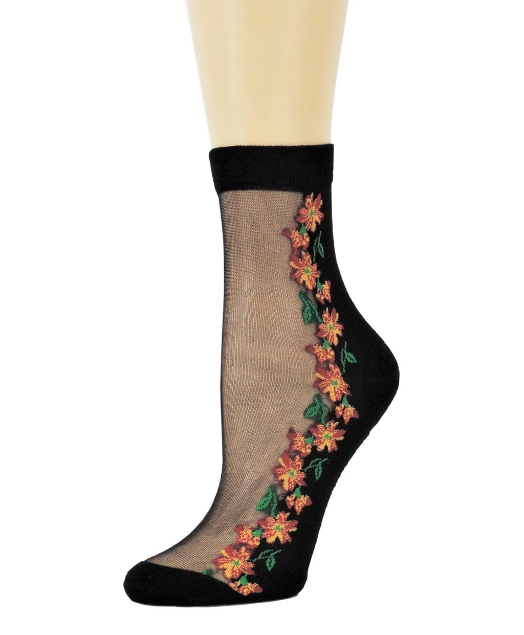 Sunflower Sheer Socks - Global Trendz Fashion®