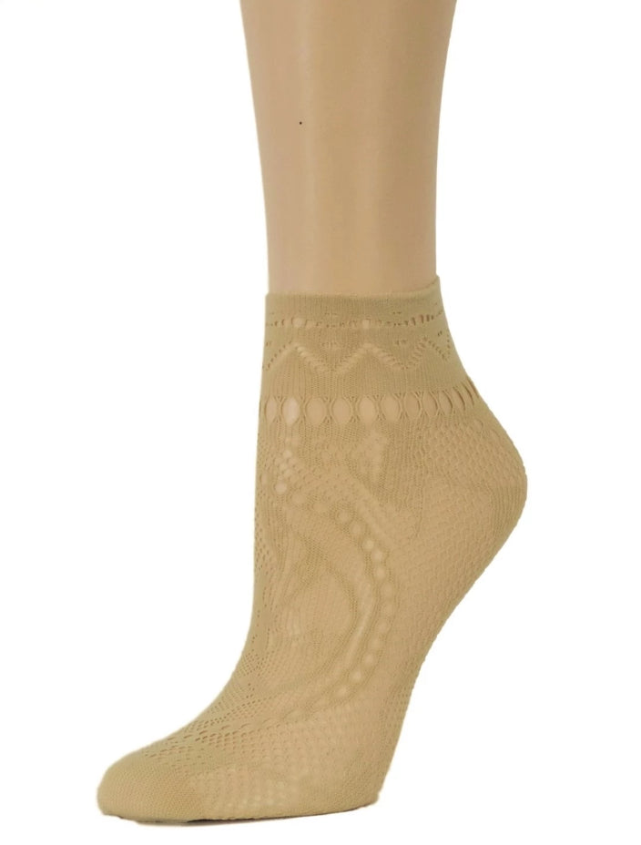 California Ankle Mesh Socks - Global Trendz Fashion®