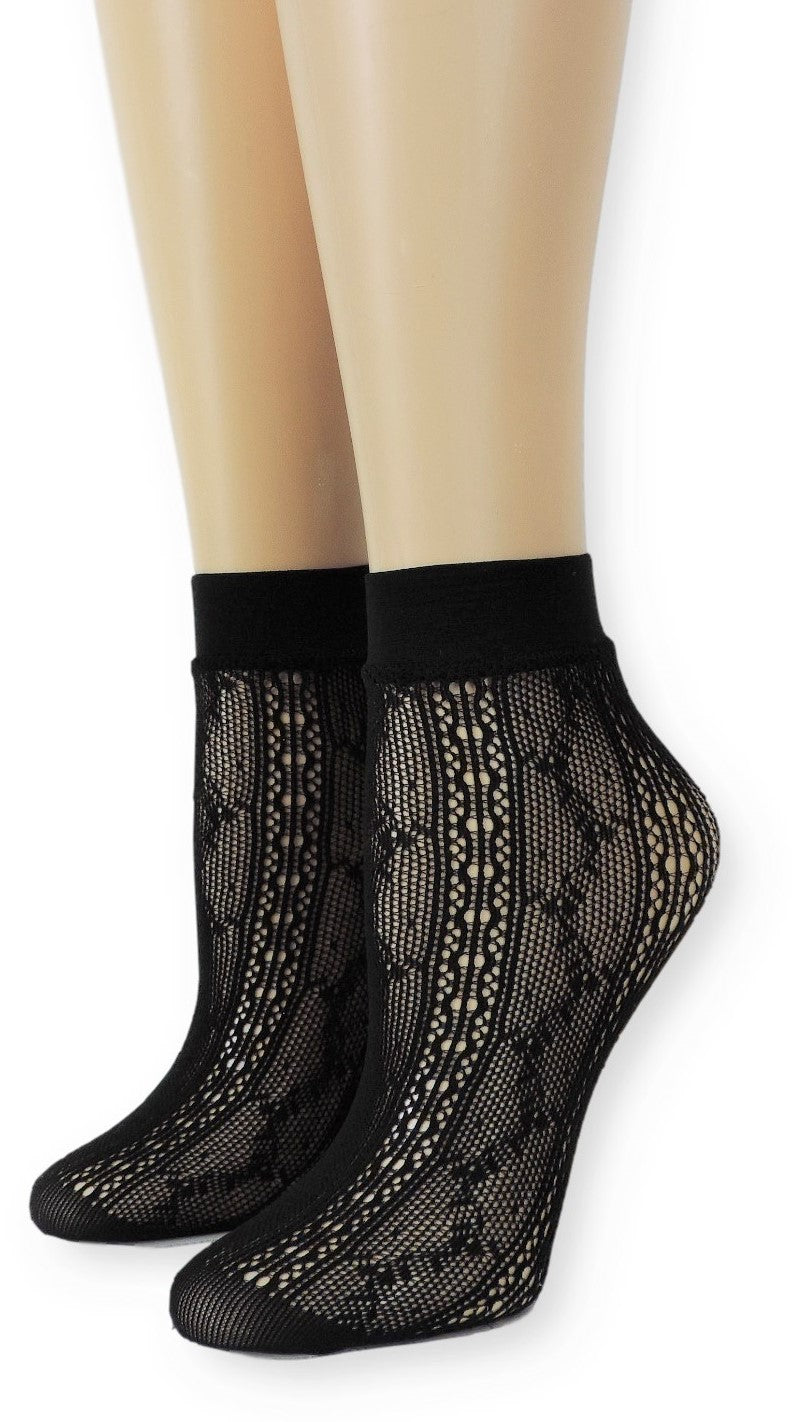 Black Mountain Mesh Socks - Global Trendz Fashion®