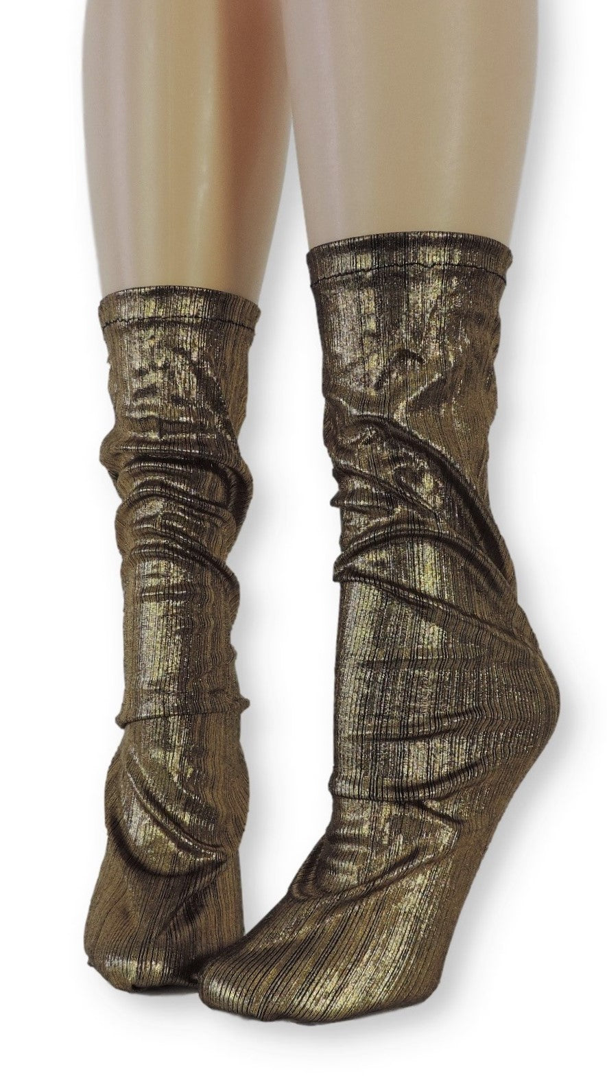 Golden Reflective Socks - Global Trendz Fashion®