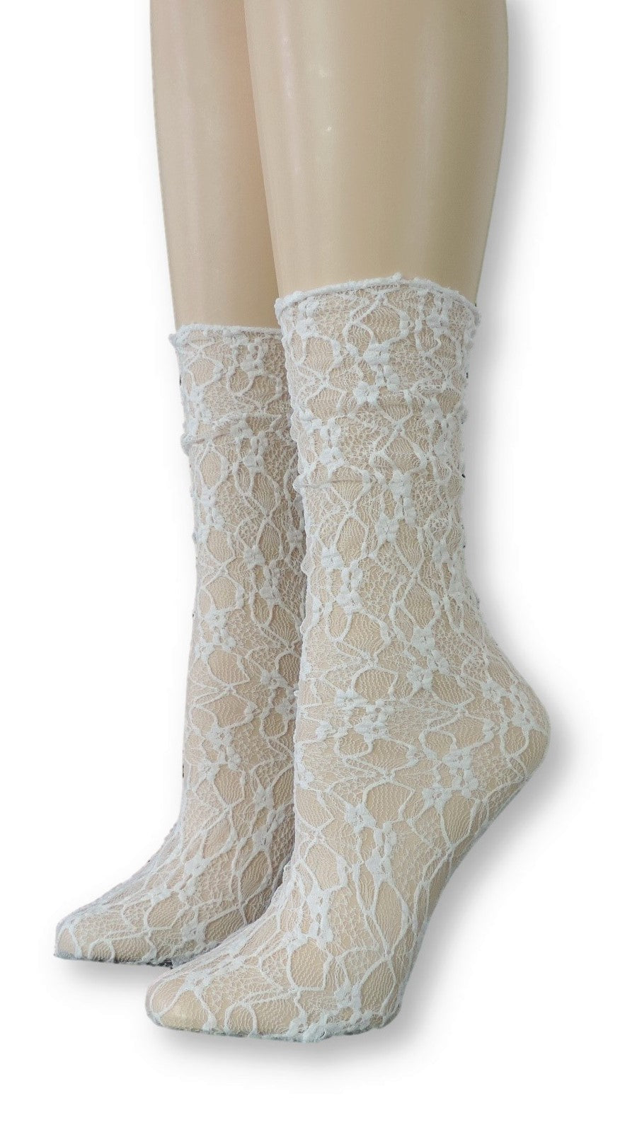 Snow Flake Mesh Socks - Global Trendz Fashion®