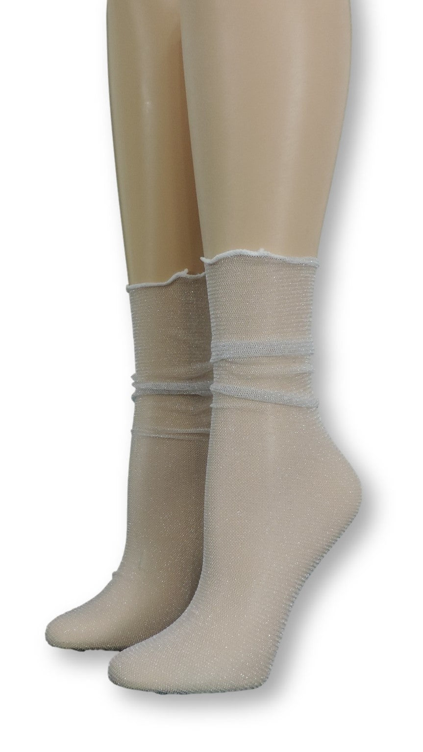 Pleated Tulle Socks - Global Trendz Fashion®