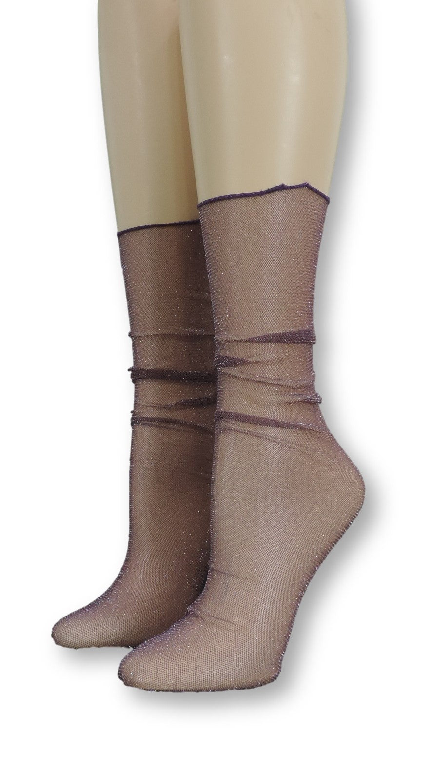 Violet Tulle Socks - Global Trendz Fashion®