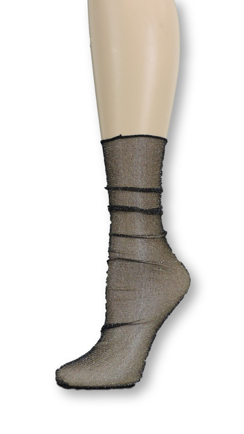 Onyx Tulle Socks - Global Trendz Fashion®