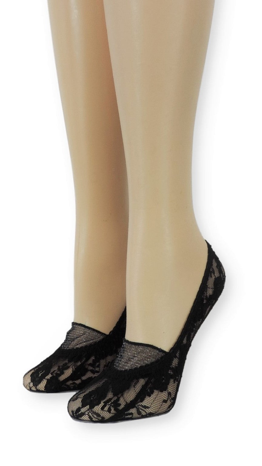 Obsidian Ankle Mesh Socks with Closed lace - Global Trendz Fashion®