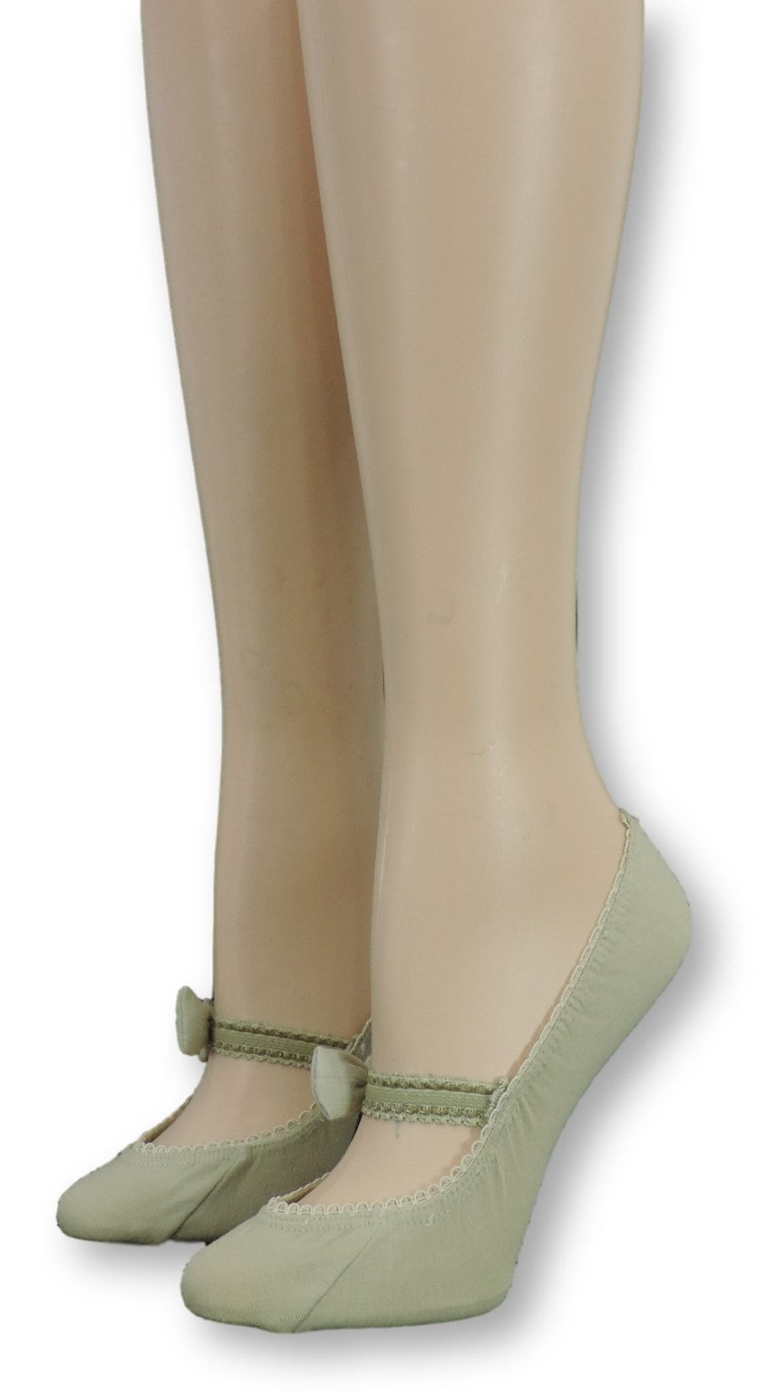 Laurel Ankle Socks with Bow Strap