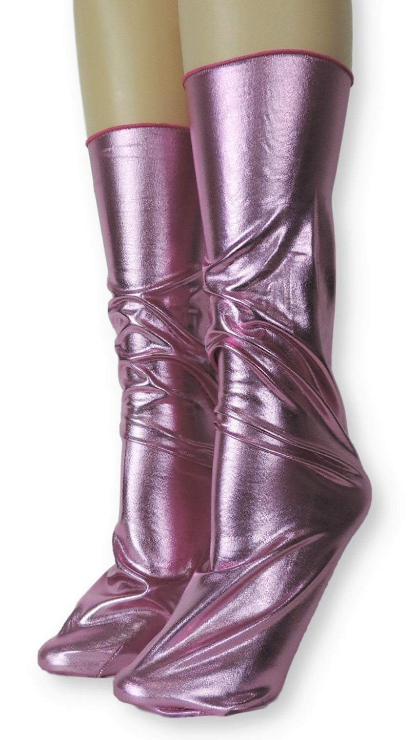Warrior Pink Pearl Reflective Socks - Global Trendz Fashion®