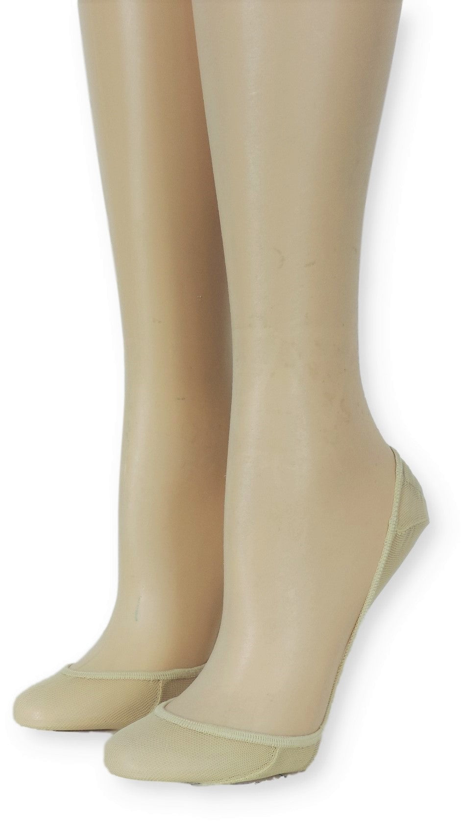 Ivory Ankle Mesh Socks - Global Trendz Fashion®