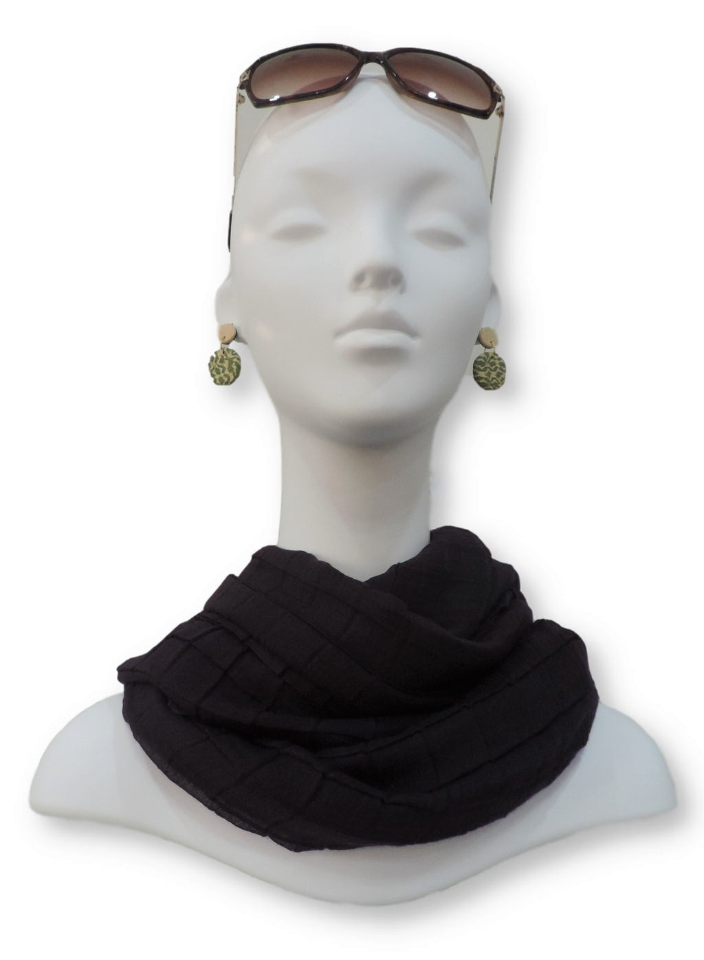 Gorgeous Cotton Pleated Scarf - Global Trendz Fashion®