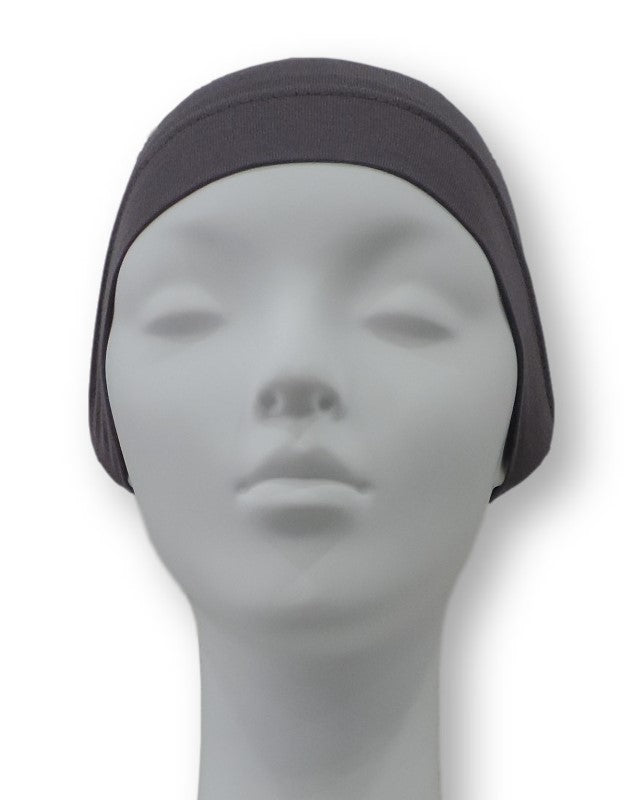 Dark Grey Under Scarf Cap - Global Trendz Fashion®