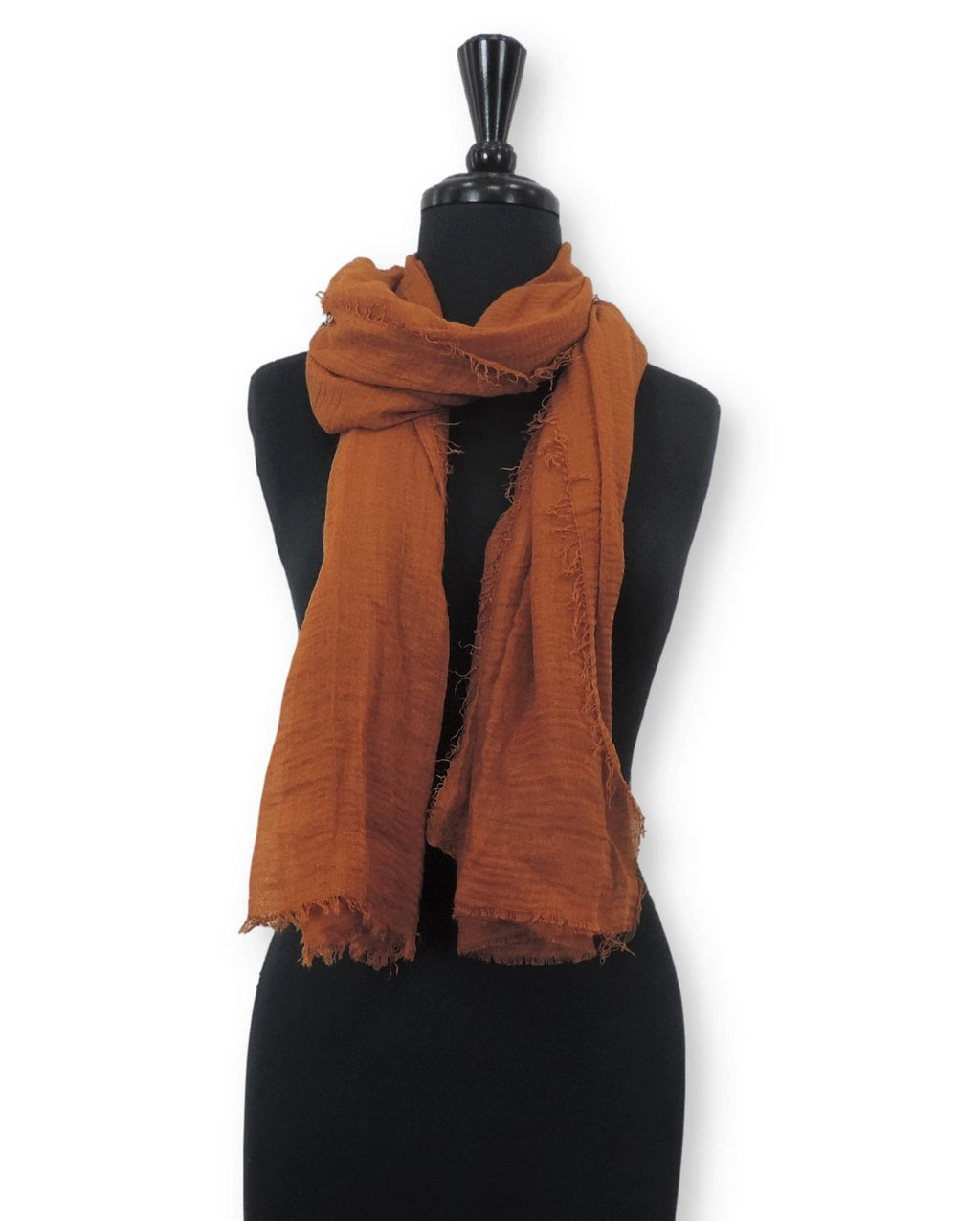 Bronze Bubble Cotton Scarf - Global Trendz Fashion®