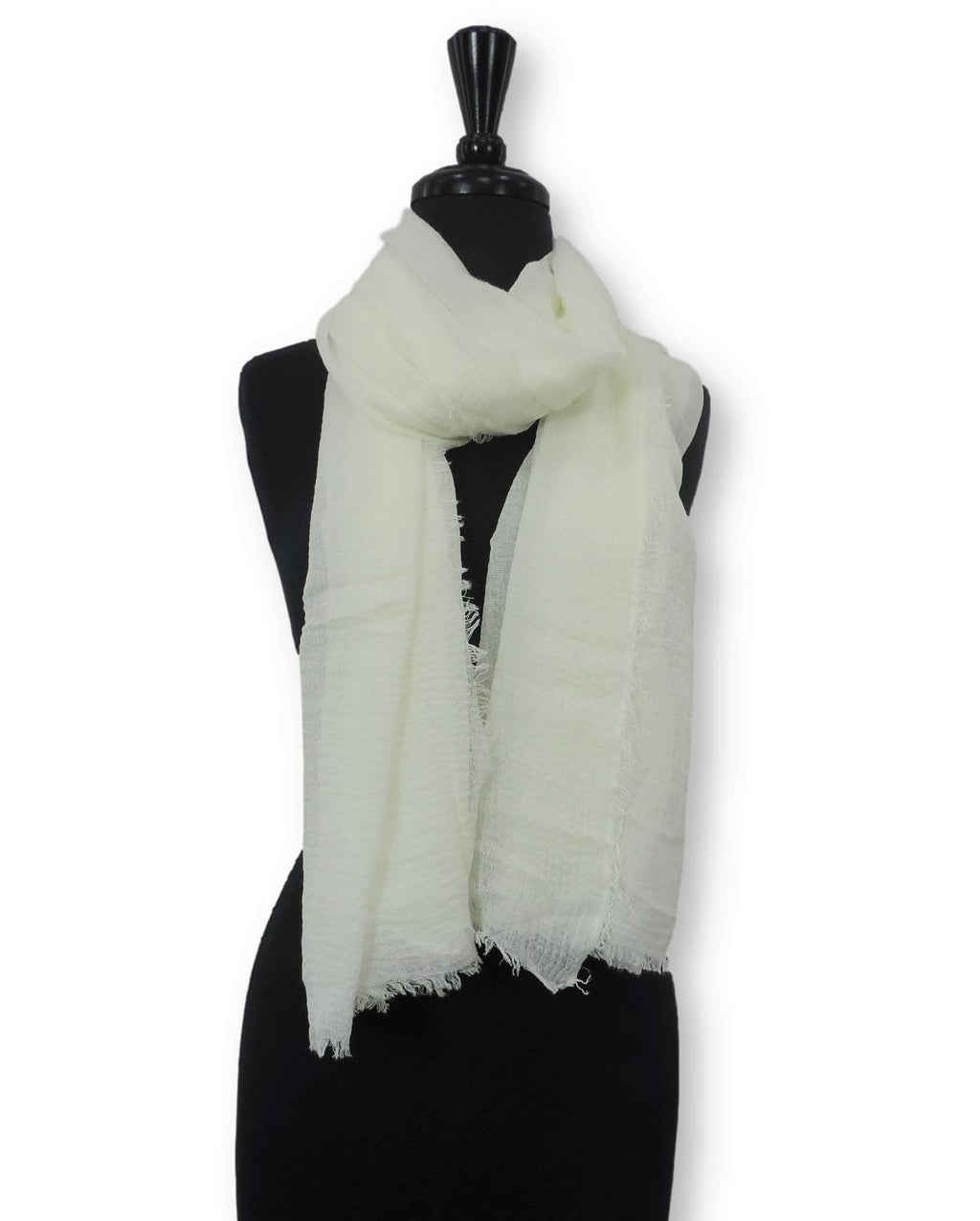 Pearl Bubble Cotton Scarf - Global Trendz Fashion®