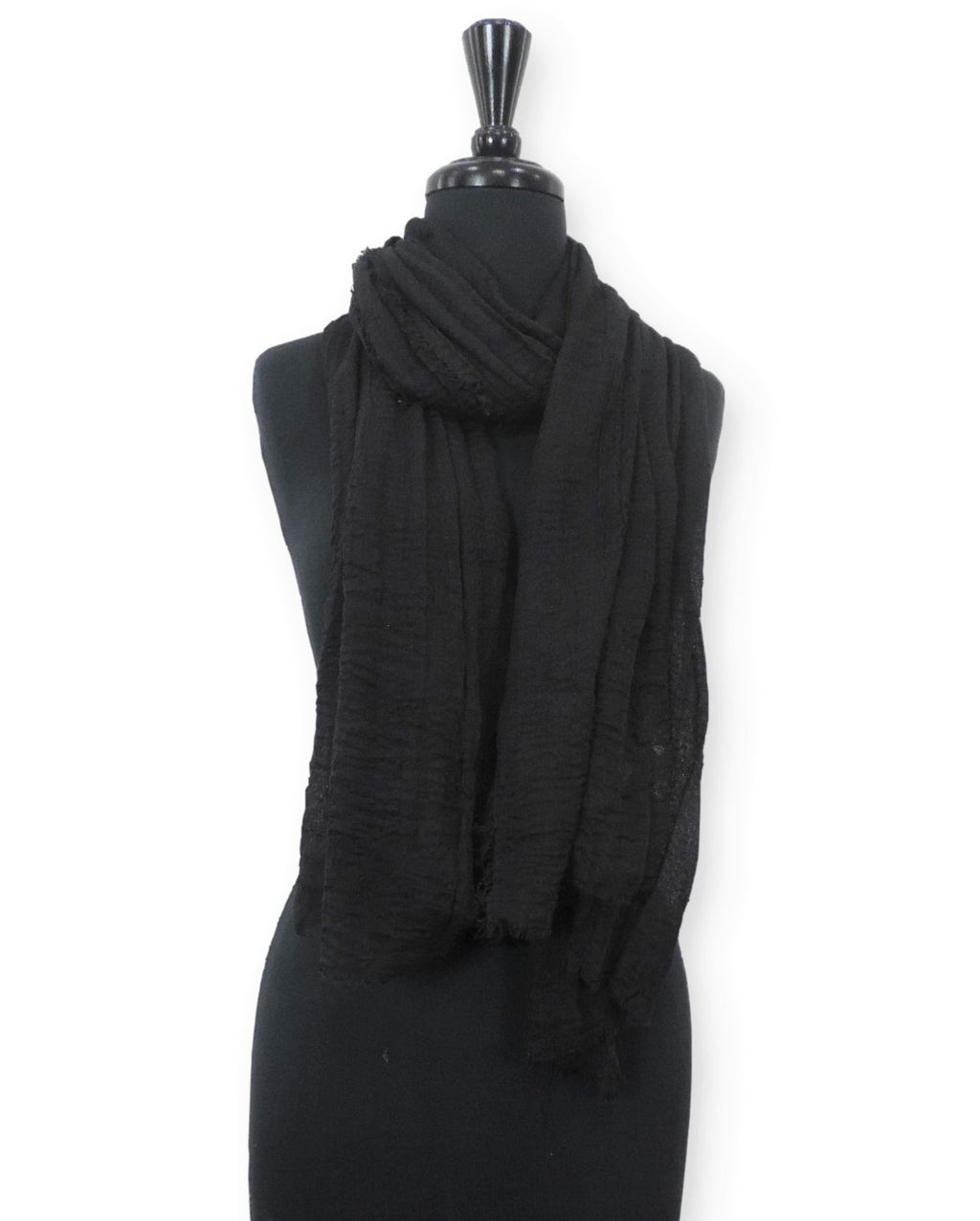 Midnight Bubble Cotton Scarf - Global Trendz Fashion®