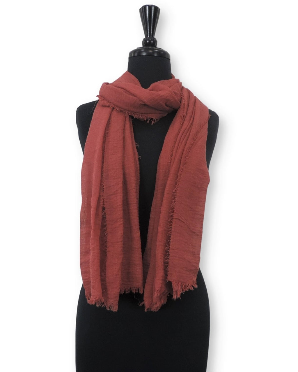 Brick Bubble Cotton Scarf - Global Trendz Fashion®