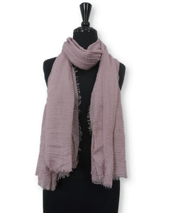 Salt Green Bubble Cotton Scarf - Global Trendz Fashion®