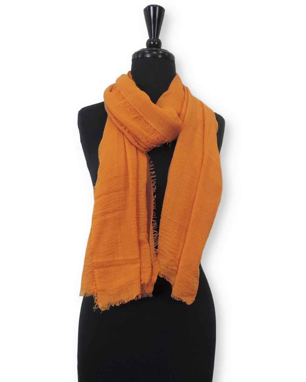 Apricot Bubble Cotton Scarf - Global Trendz Fashion®
