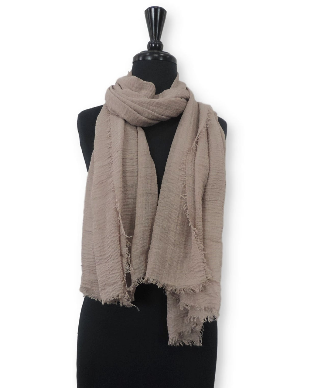 Oat Bubble Cotton Scarf - Global Trendz Fashion®