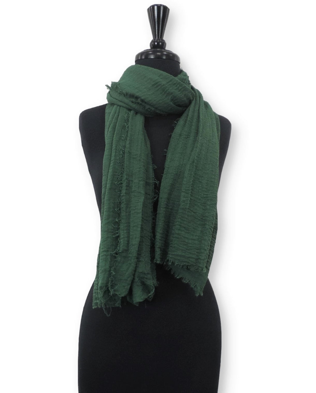 Basil Bubble Cotton Scarf - Global Trendz Fashion®