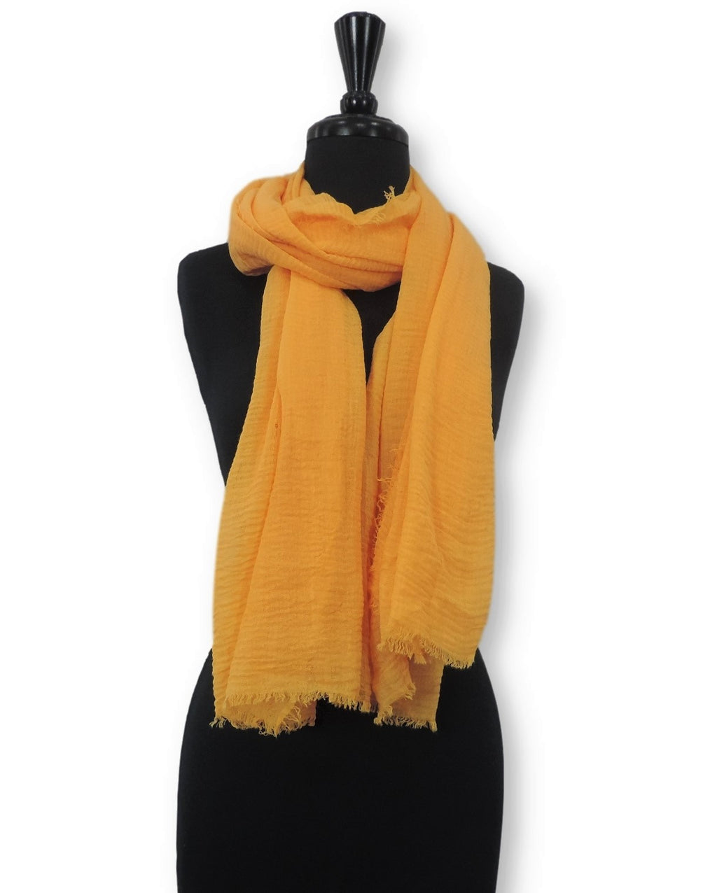 Canary Bubble Cotton Scarf - Global Trendz Fashion®