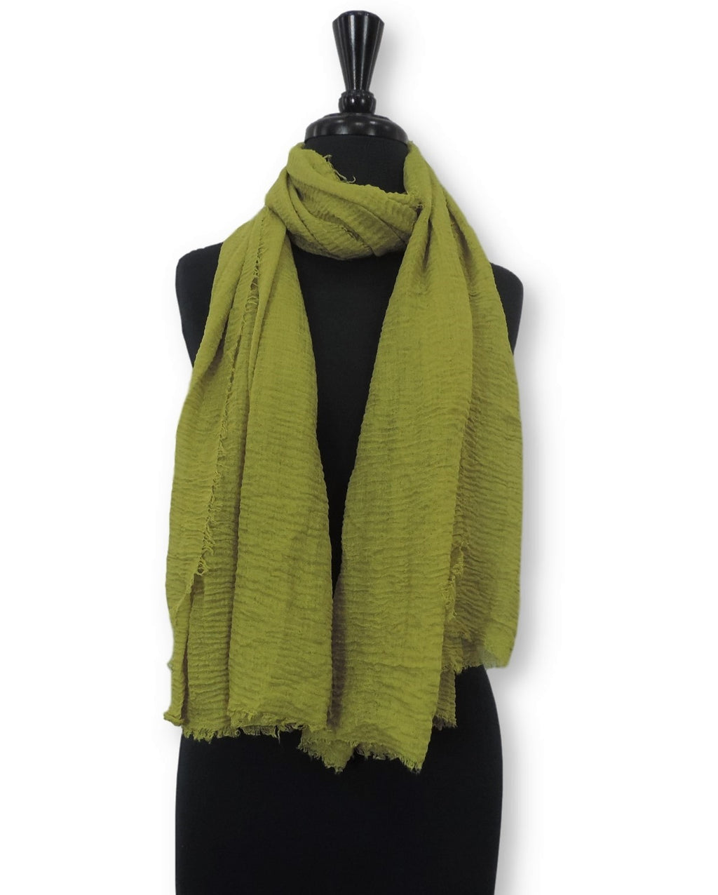 Crocodile Bubble Cotton Scarf - Global Trendz Fashion®