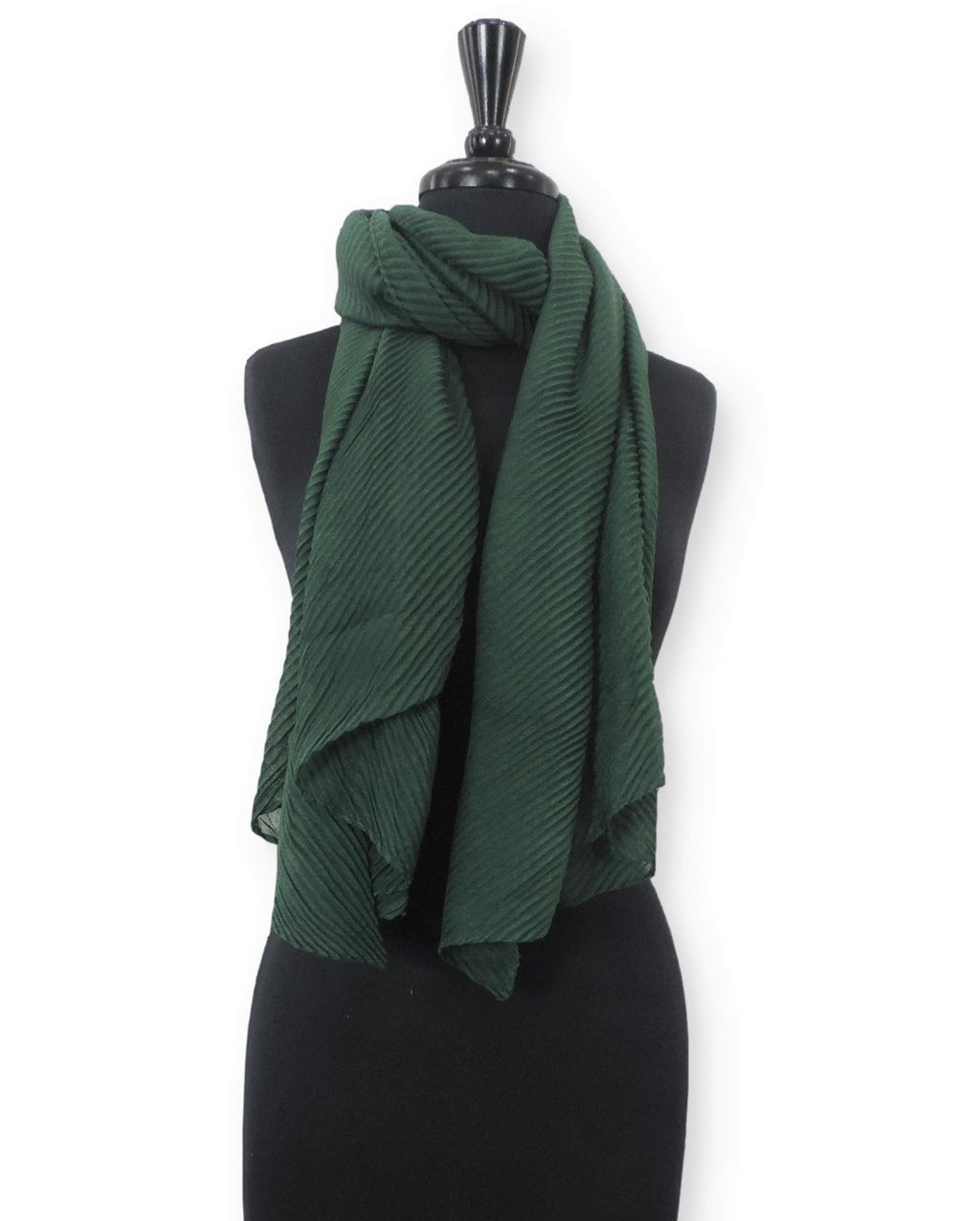 Peacock Cotton Wrinkle Scarf - Global Trendz Fashion®