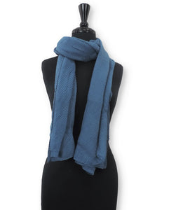 Aegean Cotton Wrinkle Scarf - Global Trendz Fashion®