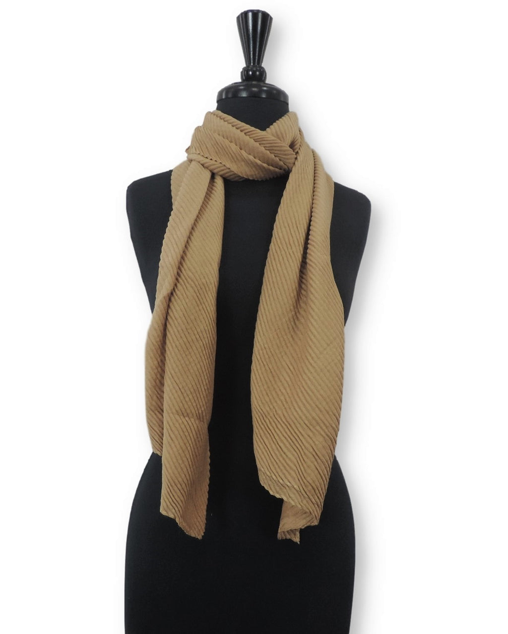 Peanut Cotton Wrinkle Scarf - Global Trendz Fashion®