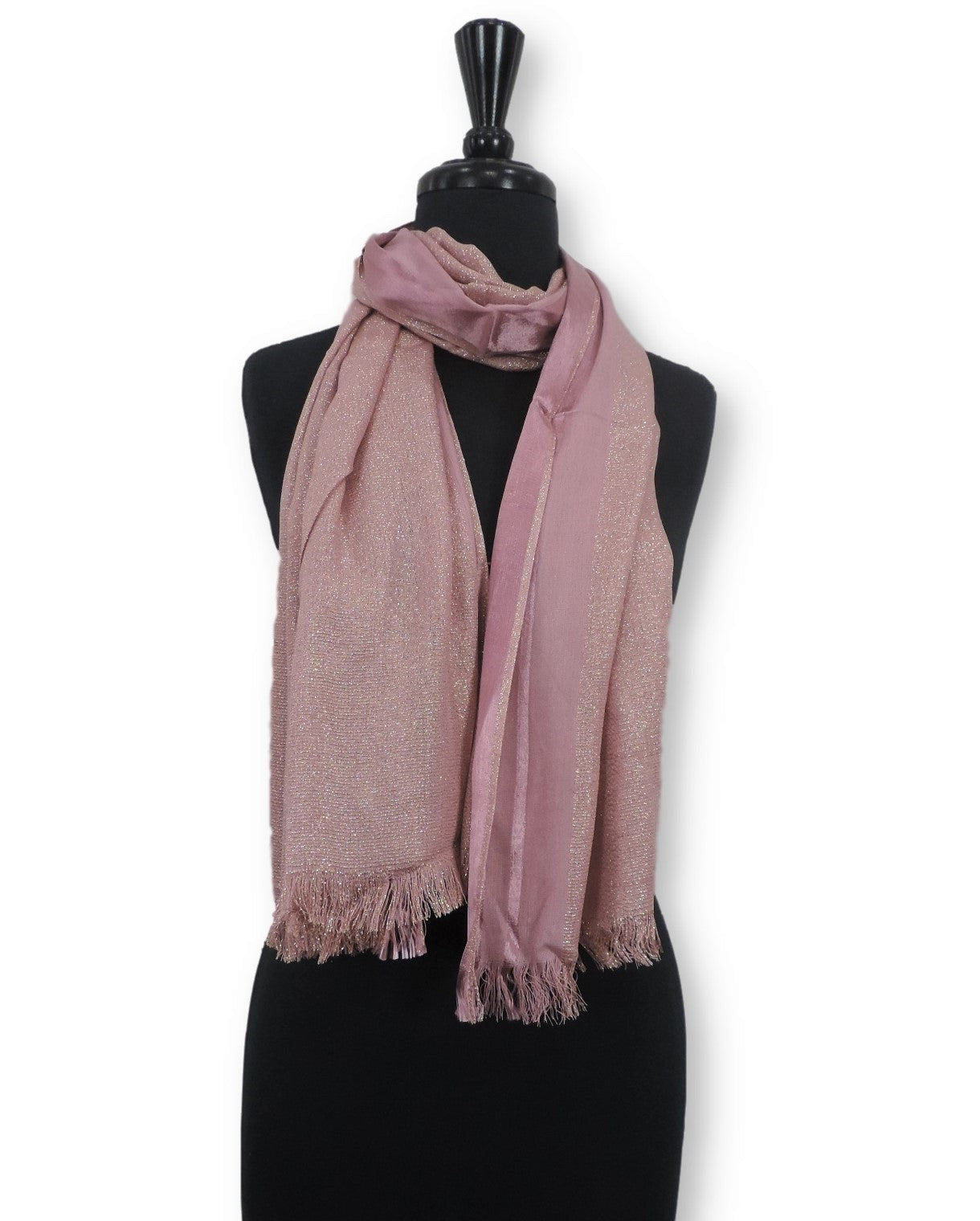 Taffy Shimmer Cotton Scarf - Global Trendz Fashion®