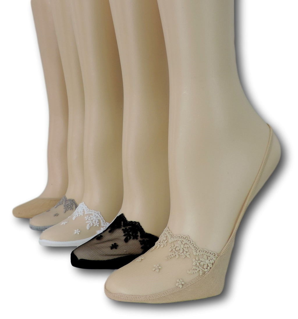 Slingback Sheer Socks (Pack of 5 Pairs)