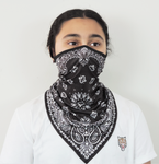 Artistic Black Neck Gaiter