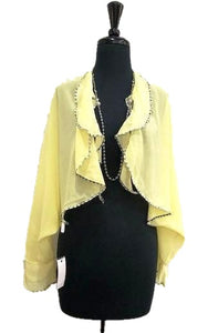 Donna Yellow Cardigan - Global Trendz Fashion®