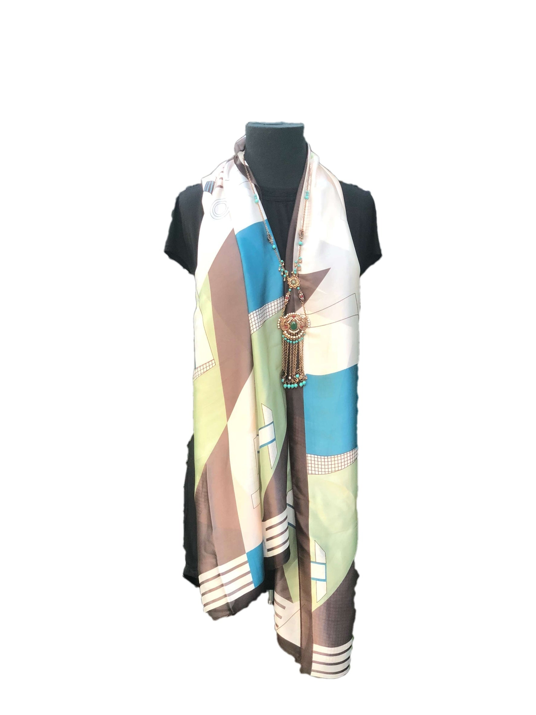 Stunning Multicoloured Printed Scarf - Global Trendz Fashion®